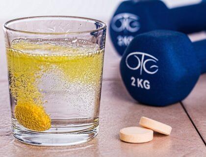 Vitamin B Effervescent Tablet Supplement