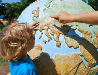 Teaching Child World Geography Children Learning